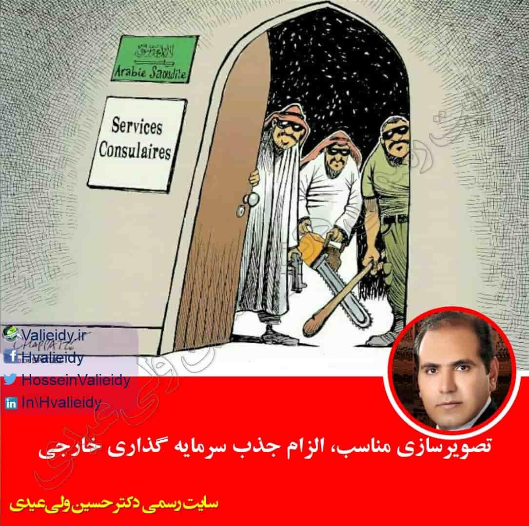 تصویرسازی مناسب، الزام جذب سرمایه گذاری خارجی - دکتر حسین ولی عیدی
